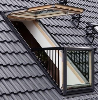 Окно балкон велюкс кабрио