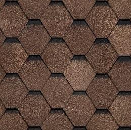 шинглас самба янтарь коричневый