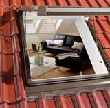 Окна Roto с люком для выхода на крышу