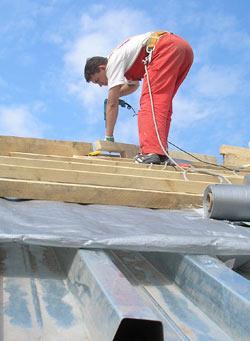 Крыша для бани из профнастила своими руками фото 950