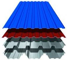 Ширина металлопрофиля для крыши